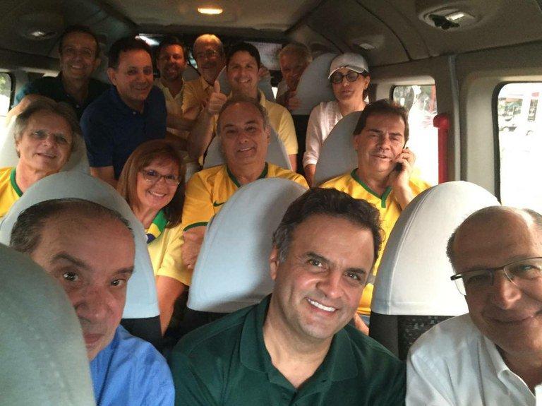 Sete pessoas do bonde anticorrupção do Aécio são investigadas por corrupção