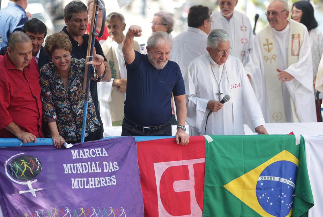 Ouça, leia ou veja a íntegra do discurso de Lula em São Bernardo