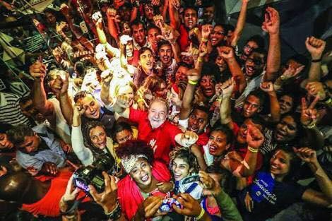 """Lula, a gente se vê na tua saída! A """"República de Curitiba"""" está muda!"""