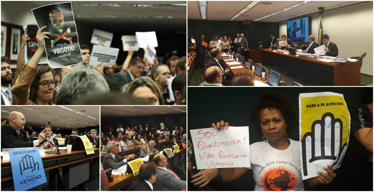 Câmara vota pacote do veneno; mudanças na lei dos agrotóxicos põem em risco saúde e ambiente