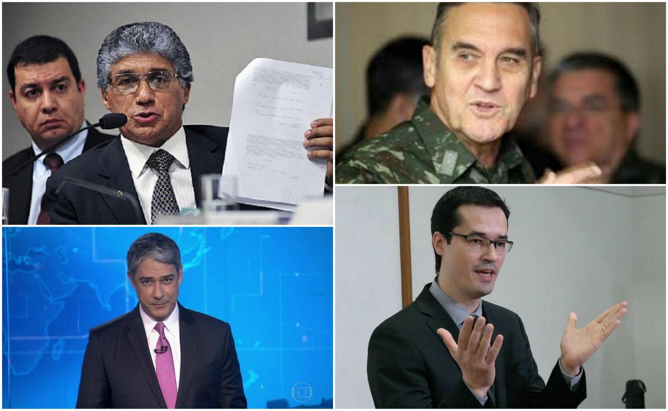 Rogério Correia, sobre Paulo Preto: Cadê  greve de fome do Dallagnol, tuíte do general e irritação do Bonner?