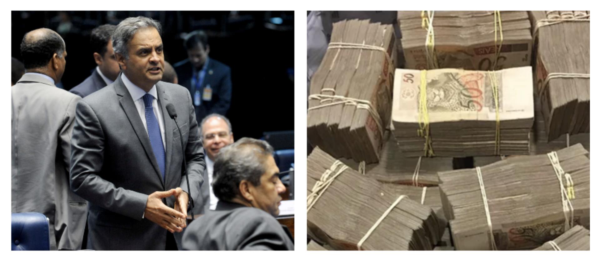 """Ao apoiar candidatura de Alckmin, Aécio Neves fala em """"ética"""" e vira piada; veja o vídeo"""