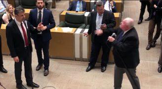 Rillo é quase agredido por Barros Munhoz por defender animais e menor jornada de trabalho para enfermeiros; veja vídeo
