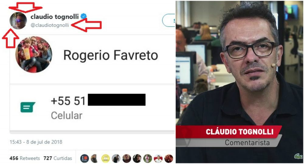 Petição para apurar conduta de jornalista que divulgou celular de Favreto já tem 3,8 mil