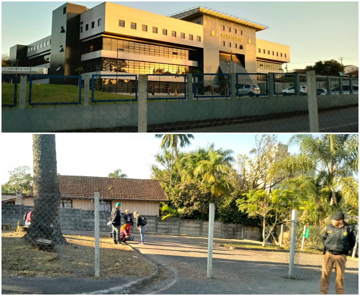 Vigília Lula Livre sai das garras do Judiciário: Aluga um terreno em frente ao portão principal da PF; mudança já começou