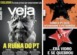 Depois de tantas vezes prever o fim de Lula e do PT, Editora Abril arrasta trabalhadores para o buraco