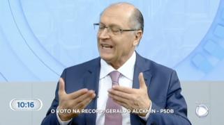 Patinando no Ibope, Alckmin diz que escolheu como vice companheira de chapa de Ciro; veja a gafe