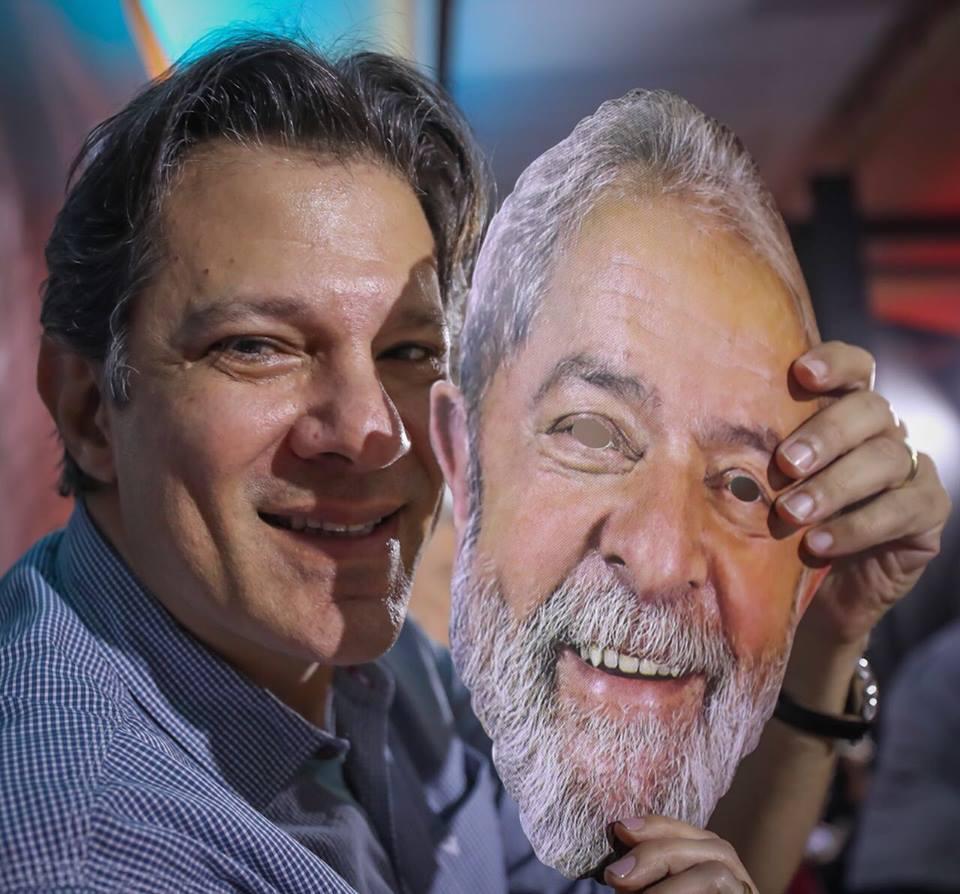 Haddad já encosta em Marina quando Lula não é opção; ex-presidente lidera em São Paulo e Doria corre risco no segundo turno