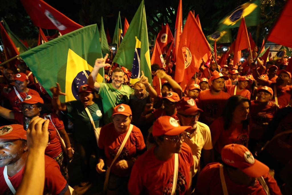Trabalhadores rurais do MST e Via Campesina iniciam neste sábado a Marcha Lula Livre a Brasília; veja vídeos e fotos do lançamento