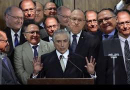 Temer dá beijos da morte em Geraldo Alckmin: Meu governo foi formado por aqueles que agora te apoiam; veja vídeos