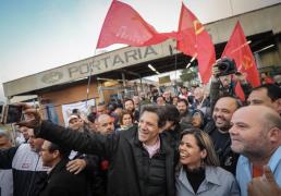 "Tentativa de Alckmin de barrar pesquisa é para evitar ""ultrapassagem"" de Haddad"