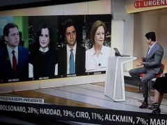 Haddad sobe 11 pontos em uma semana e garante vaga no segundo turno, com Ciro estacionado e Alckmin em queda