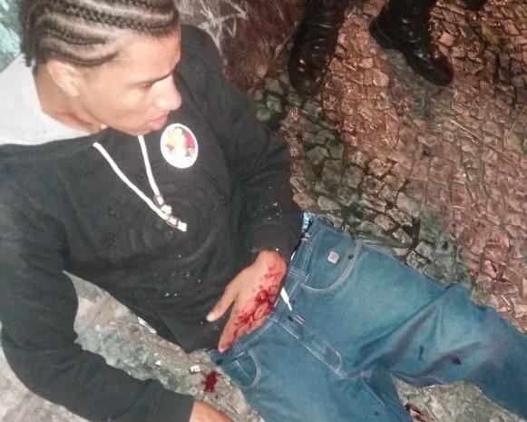 Candidato a deputado pelo PT do Paraná é baleado à queima roupa pela Guarda Municipal de Curitiba; veja vídeo