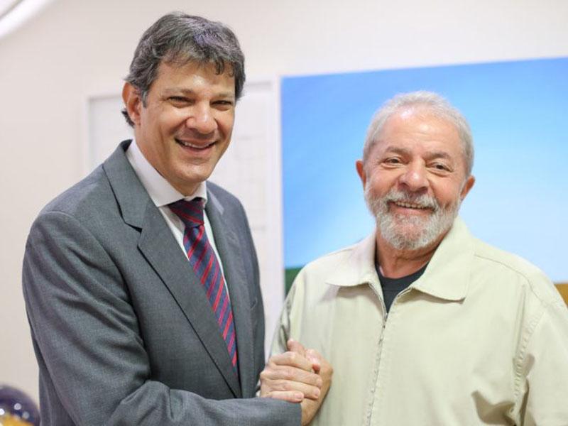 Por unanimidade, TSE reconhece direito de Haddad usar a imagem de Lula em propaganda na televisão; leia íntegra