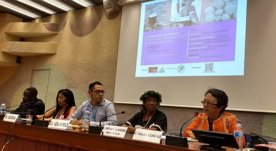 Cimi denuncia: Em evento da ONU, governo tenta mascarar a situação dos povos indígenas no Brasil