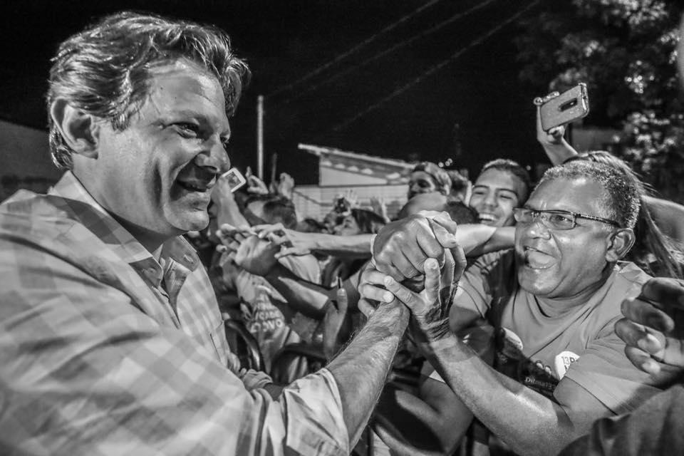 Ibope: Com apenas 9% de brancos e nulos, Haddad precisa virar votos de Bolsonaro