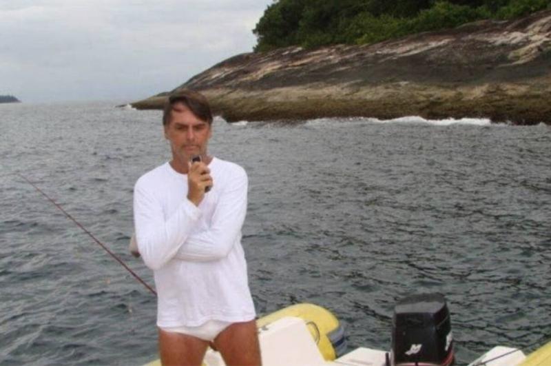 Bolsonaro recorreu a ministro do PT para se livrar de multa por pesca ilegal; depois, apresentou projeto para desarmar fiscais do Ibama