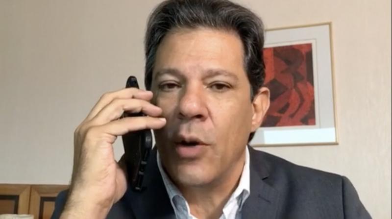 """Haddad, ao denunciar caixa 2 digital de Bolsonaro: """"Organização criminosa""""; veja o vídeo"""