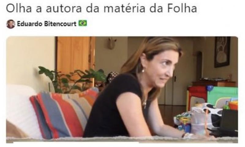 @Nada Novo no Front: Perfil indicado por Bolsonaro incita perseguição a jornalista que denunciou caixa 2 digital