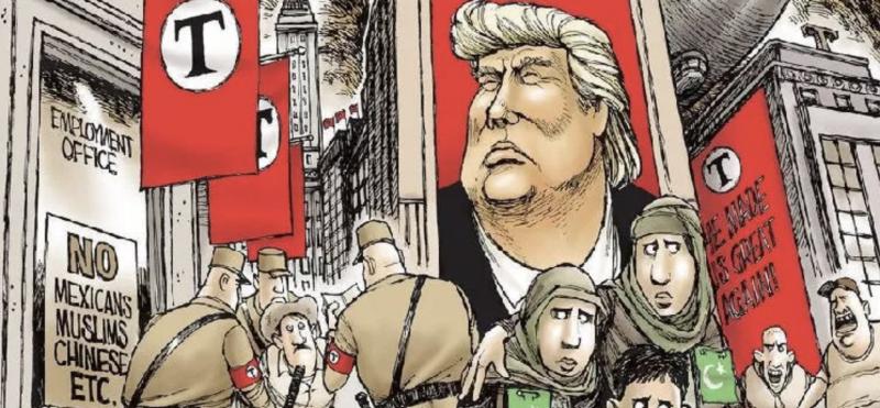 Trump culpa a imprensa pelas bombas que a retórica dele incentivou