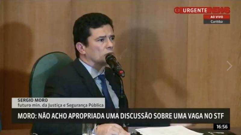 Em homenagem a Moro, Requião apresenta a Lei Onyx Lorenzoni, que trata de perdão judicial depois de pedido de desculpas; veja vídeo, áudio e íntegra