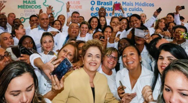 Dilma: Bolsonaro colocou seus preconceitos contra os médicos cubanos à frente da saúde de milhões de brasileiros