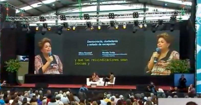 A fala de Dilma no Encontro Mundial do Pensamento Crítico; assista