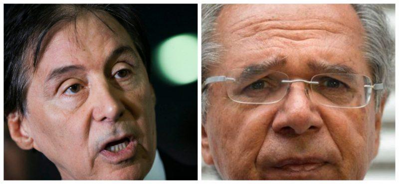 """Carteirada de Paulo Guedes choca senadores na véspera do reajuste do STF: """"Prensa em mim ninguém dá"""", diz Eunício"""