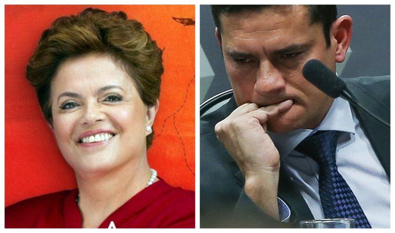 Dilma: O juiz Moro vazou a delação de Palocci, prejudicando a minha candidatura e a de Haddad; agora o rei está nu
