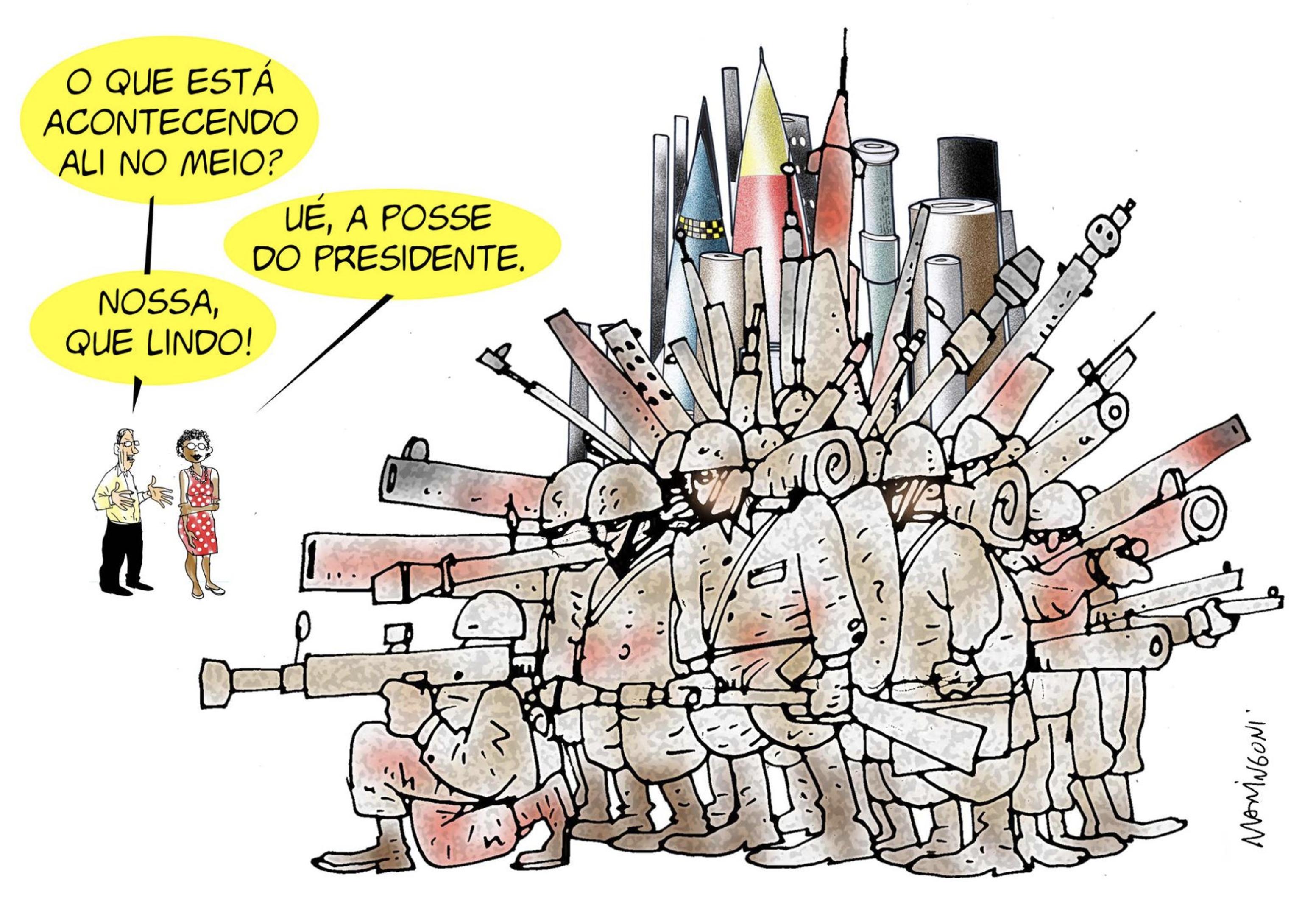 Para a posse de Bolsonaro, Maringoni alerta: a direita, como sempre, pode estar montando provocações