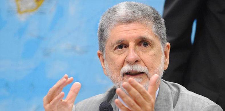 """Celso Amorim: """"O capitalismo nacional praticamente está acabando"""""""