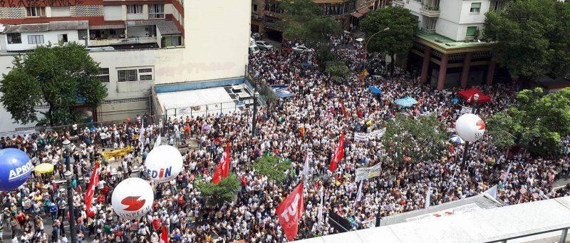 Só grandes mobilizações derrotarão reforma da previdência da gestão Doria/Covas