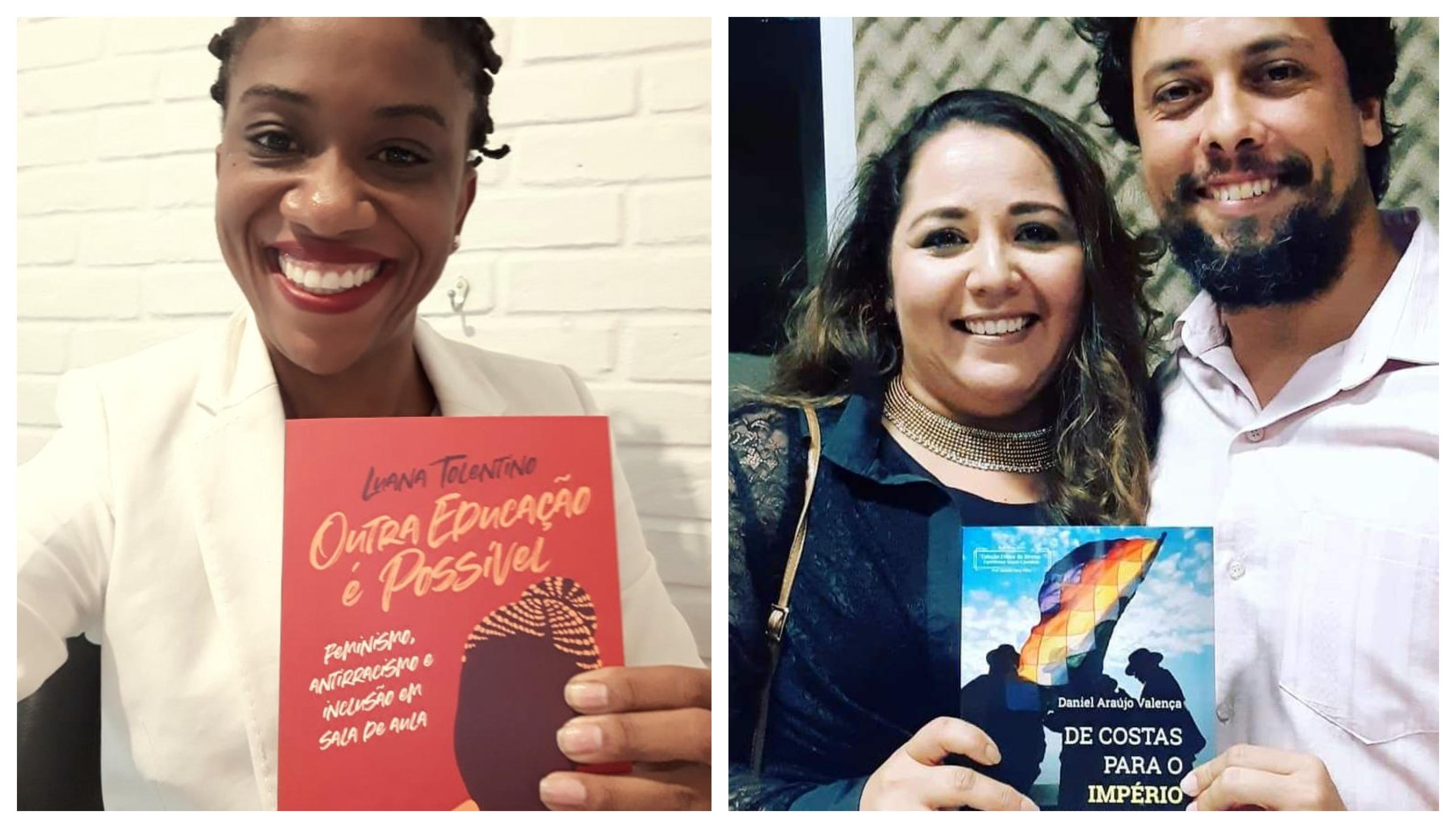 Luana Tolentino, em São Paulo, e Daniel Valença, em Natal, lançam livros nesta sexta-feira