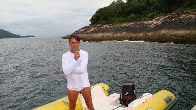 Futuro ministro do Meio Ambiente, réu por improbidade, diz que Bolsonaro tinha vara de pescar no barco mas não estava pescando