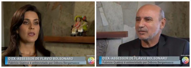 Rovai desmascara o jogo de cena de Queiroz no SBT: Tão bizarras quanto as respostas foram as perguntas e não-perguntas da repórter