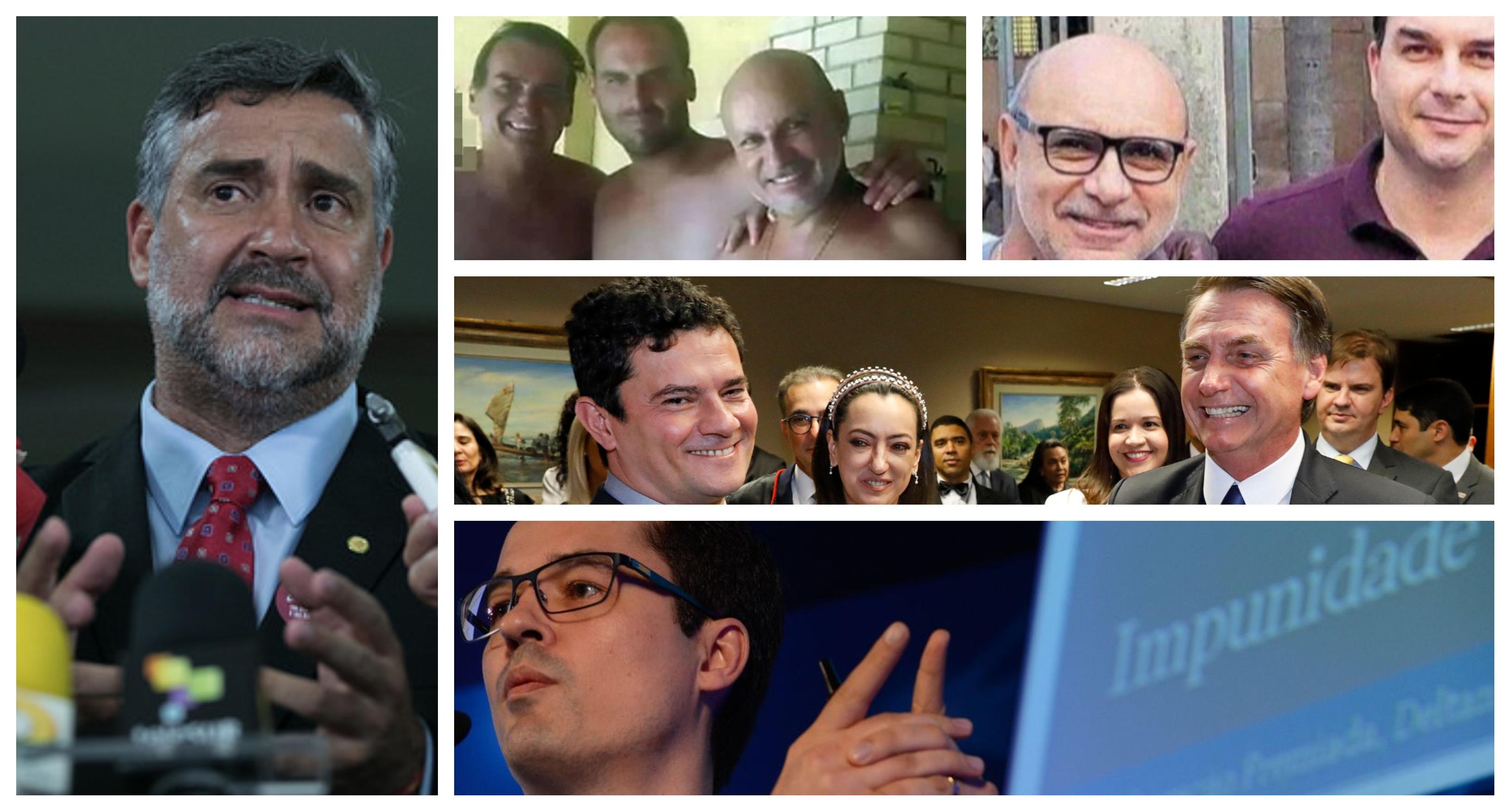 """Pimenta: """"Com Queiroz e os Bolsonaro, Lava Jato vai mudar de nome, se chamará Passa Pano"""""""