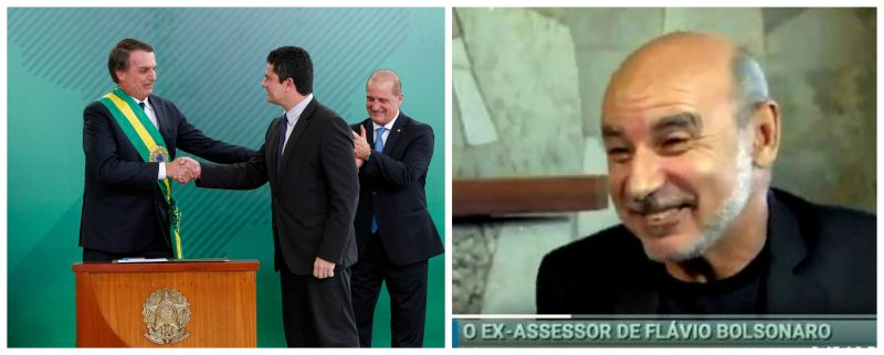 Flávio Bolsonaro deve ter combinado com papai garantias no STF, com Moro, um soldado e um cabo