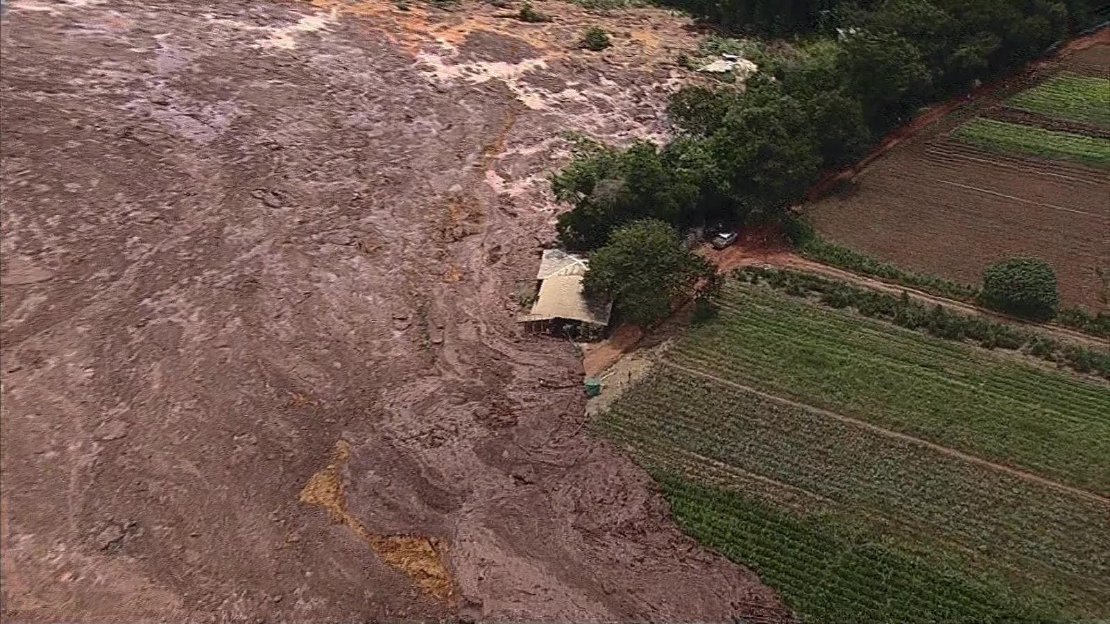 Mensagens De Rompimento: Barragem Da Vale Se Rompe Em Brumadinho, Na Grande BH