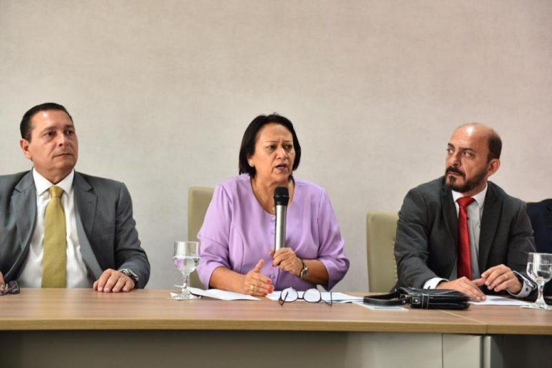 Fátima, única governadora eleita, anuncia revisão de todos os contratos do governo do RN