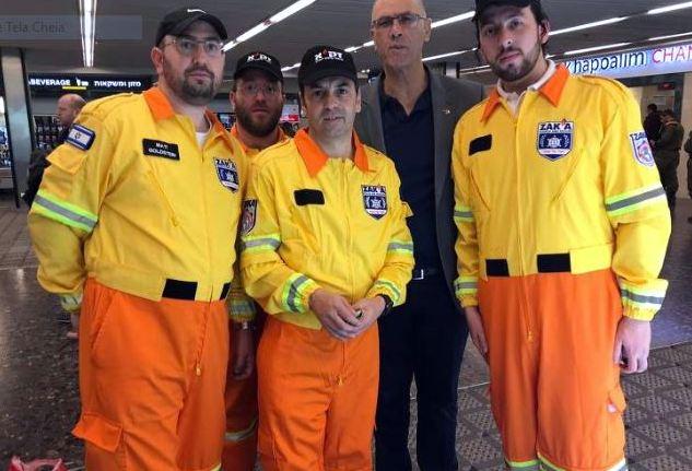 Chefe dos bombeiros: Nenhum equipamento trazido por militares de Israel se aplica ao desastre de Brumadinho