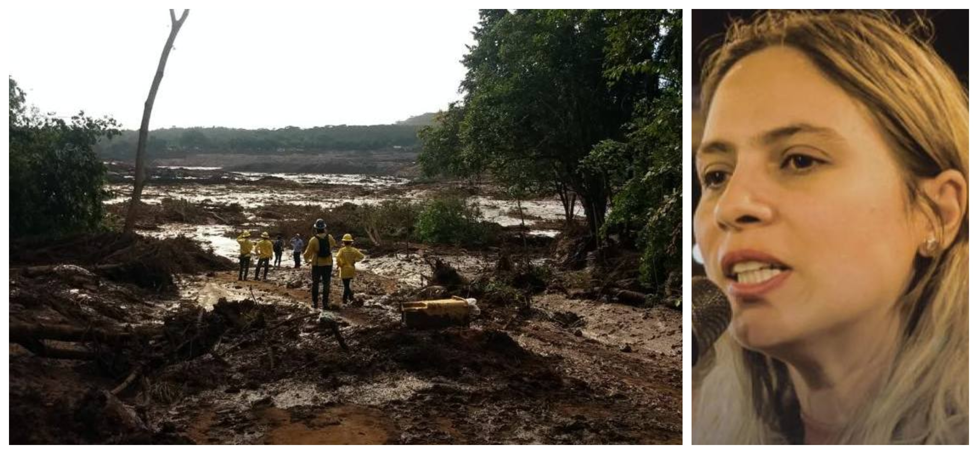 Beatriz Cerqueira: Como a Vale coloca refeitório, administração e enfermaria à beira da barragem e nenhum órgão fiscalizador impede? Brumadinho não foi acidente, é crime!