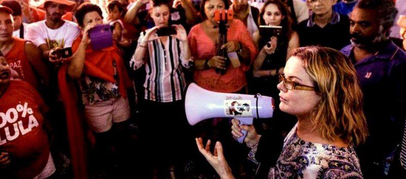 Gleisi: O presidente Lula disse que nós vamos ser, sim, a voz da população na defesa dos seus interesses; veja vídeo
