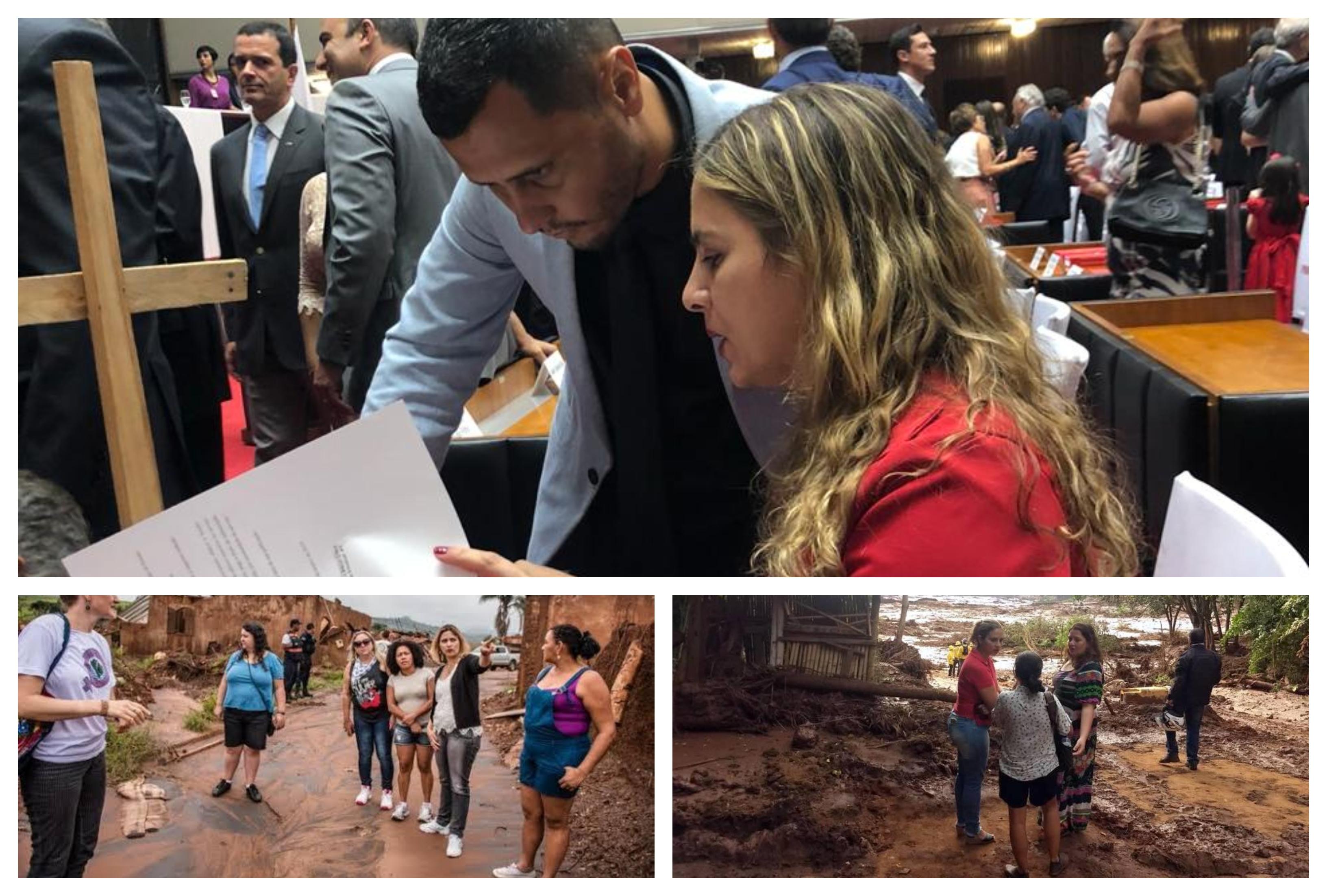 Beatriz Cerqueira protocola pedido de CPI das Mineradoras: Quando não fazemos justiça por nossos mortos, o resultado é Brumadinho; veja quem assinou