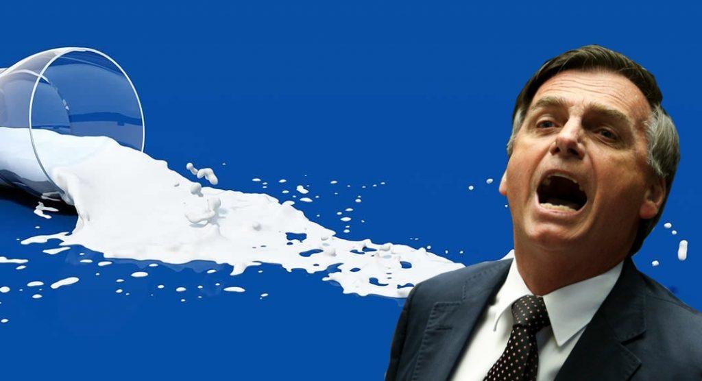 Bohn Gass: Bolsonaro trai produtores de leite e descumpre promessa de proteger setor