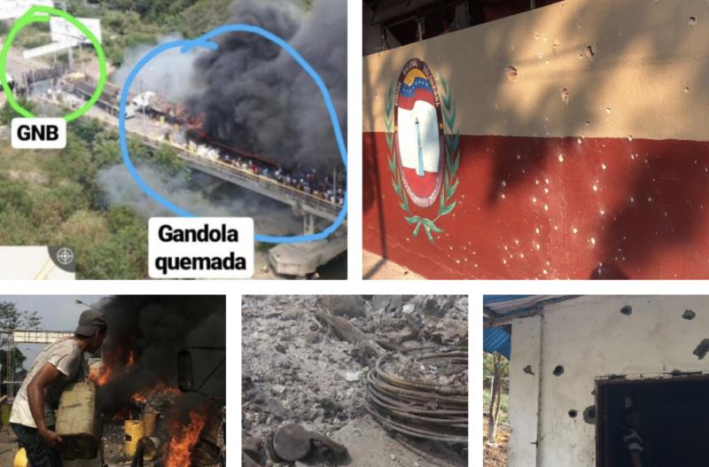 Ação em ponte da Venezuela foi diversionismo para ataque de paramilitares; veja vídeo