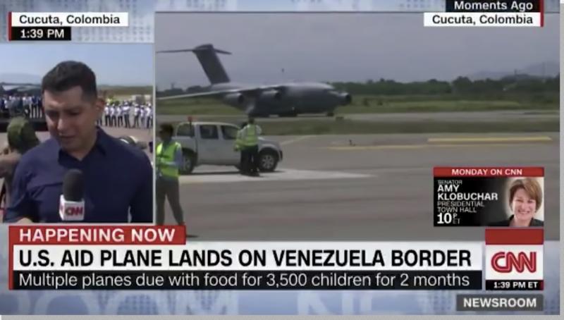 Repórter da CNN diz que faltam pasta e escova de dentes na Venezuela; mas é desmentido; veja vídeos