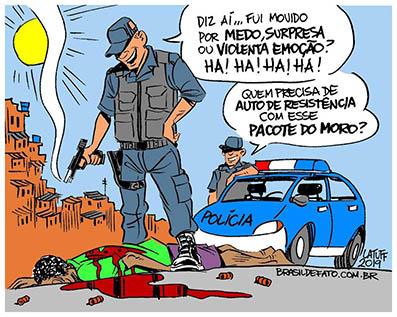 Altamiro Borges: Mídia pega leve com pacote de Moro e respalda 'licença para matar'