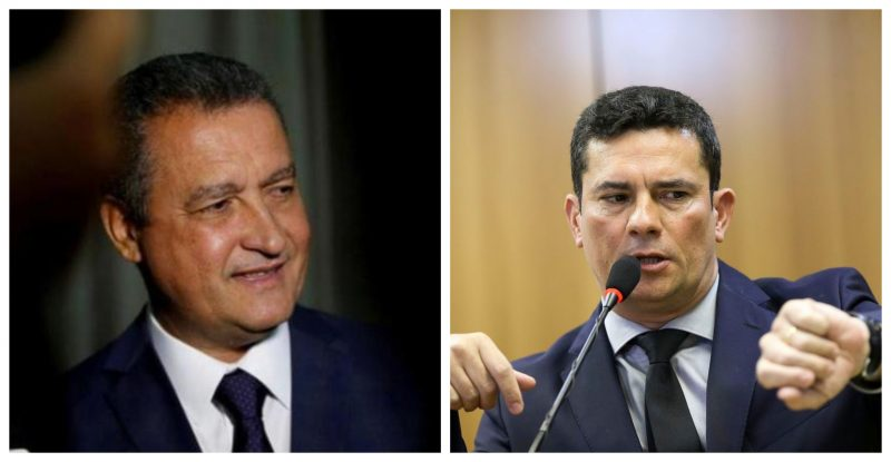 Rui Costa passa pano para algoz de Lula: Confirma apoio a projeto anticrime de Moro, inclusive à prisão em segunda instância