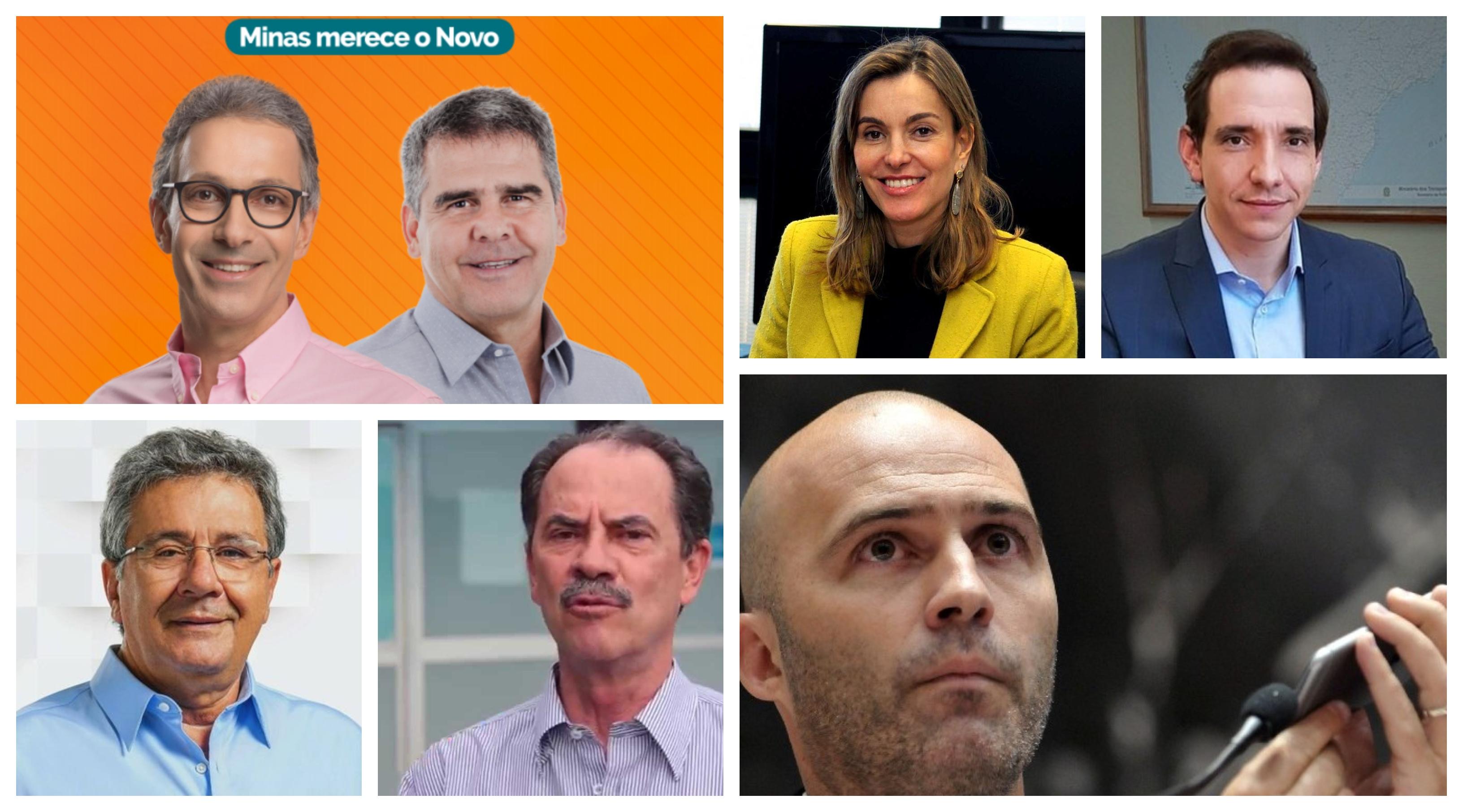 Carone: Secretariado do governo Zema e seus líderes na Assembleia comprovam que o Novo é o novo PSDB mineiro; veja quem são