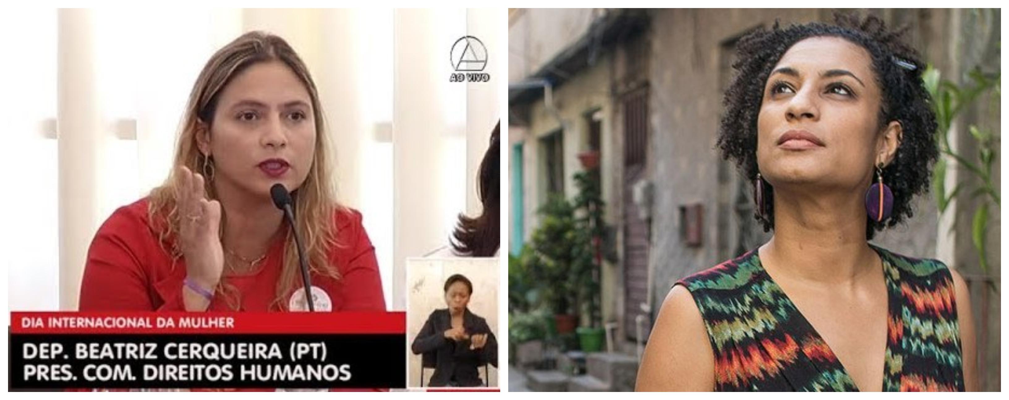 Beatriz Cerqueira: Quem matou Marielle? Por que se preocupam com milícias da Venezuela e não com as daqui?; veja vídeo